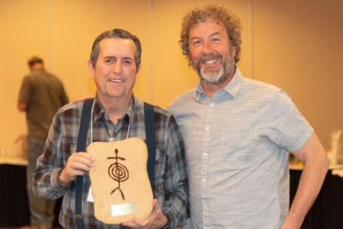 Mark presenting the Ting-Perkins award