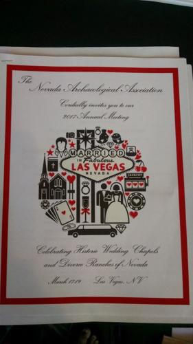Nevada Archaeological Association 2017 Conference