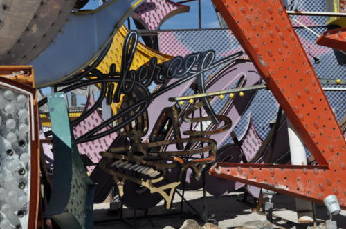 Nevada Archaeological Association 2017 Neon Boneyard88