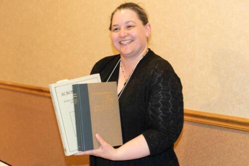 Sarah gains some auction prizes