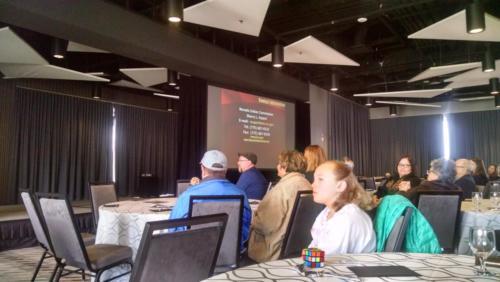 Keynote Speaker Sherry Rupert, Stewart Indian; photo by Christina Callisto
