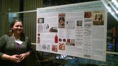 Sarah Branch;Poster session; photo by Christina Callisto