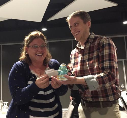 Christina Callisto and Andrew Hoskins at Auction Shenanigans;
