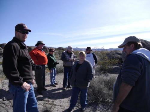 Nevada Archaeological Association 2001 Hells Half Acre141
